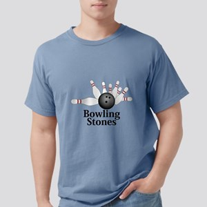 Bowling Stones Logo 2 Design Front C T-Shirt