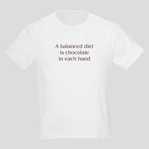 Balanced Diet Kids Light T-Shirt