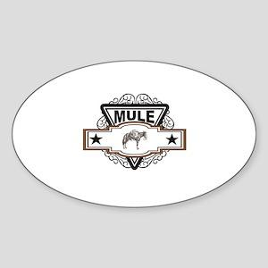 triangle pack mule Sticker
