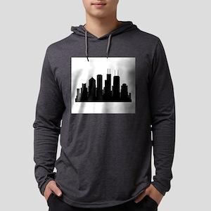 chicago skyline Long Sleeve T-Shirt