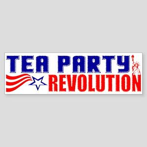 """Tea Party Revolution"" Sticker"