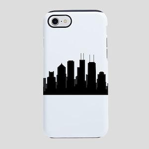 chicago skyline iPhone 8/7 Tough Case