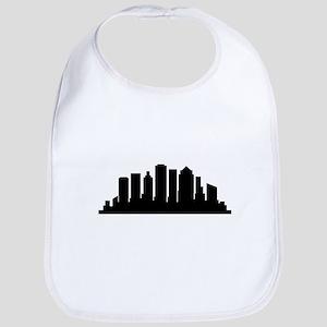 Boston skyline Baby Bib