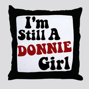 New Kid Donnie Throw Pillow