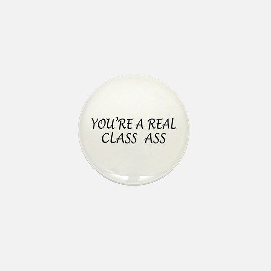 Real Class Ass Mini Button