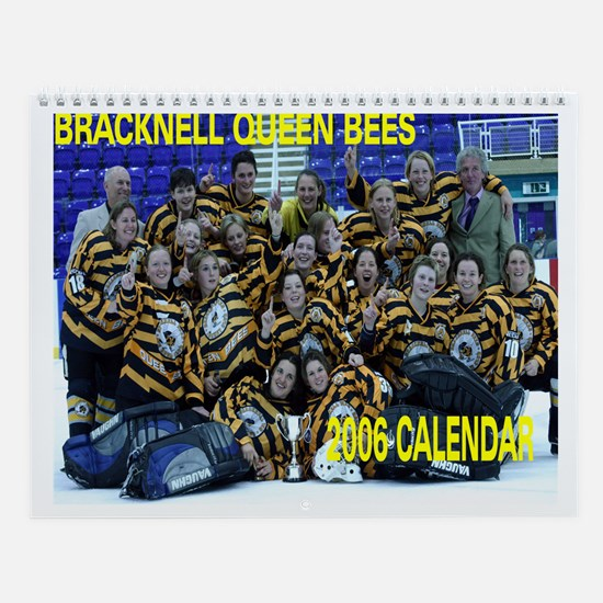 Bracknell Queen Bees Wall Calendar