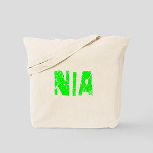 Nia Faded (Green) Tote Bag