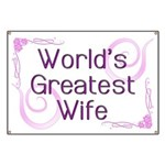 World's Greatest Wife Banner