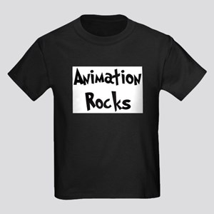 Animation Rocks Ash Grey T-Shirt