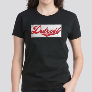 Detroit MI Ash Grey T-Shirt