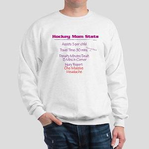 Hockey Mom Stats Sweatshirt