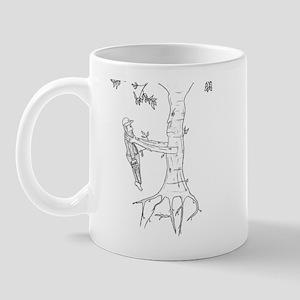Trees Fight Back (b/w) Mug