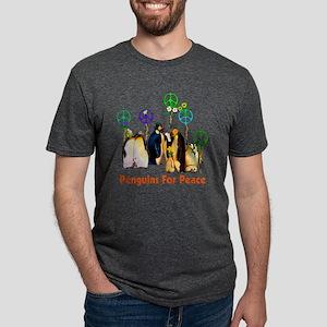 Penguins For Peace Mens Tri-blend T-Shirt