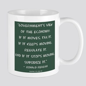 Government's view of the economy Mugs