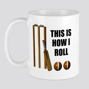 This Is How I Roll Cricket Mug