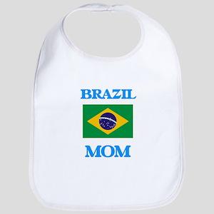 Brazil Mom Baby Bib