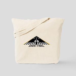 Aviation Short Final Tote Bag