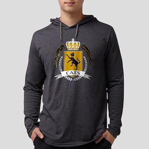 Cat King of the Castle Sweatshirt Long Sleeve T-Sh