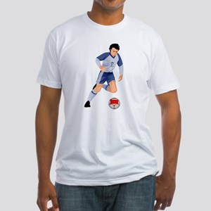 Morocco Soccer Fitted T-Shirt