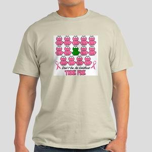 Pink Frogs 2 Light T-Shirt