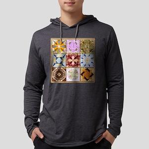 Harvest Moons Quilt Long Sleeve T-Shirt