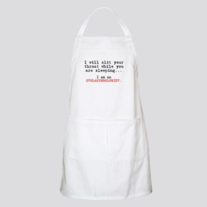 Slit Your Throat BBQ Apron