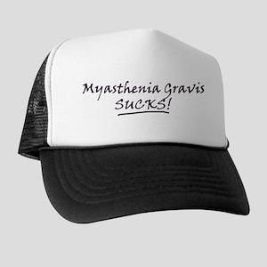 Myasthenia Gravis Sucks! Trucker Hat