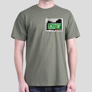 KINGSTON AV, BROOKLYN, NYC Dark T-Shirt