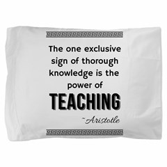 The one exclusivesign of thoroughknowledge is