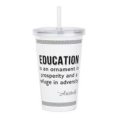 AristotleEducation Acrylic Double-wall Tumbler