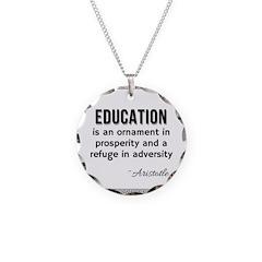 AristotleEducation Necklace