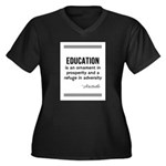 AristotleEducation Plus Size T-Shirt