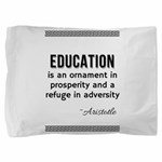 AristotleEducation Pillow Sham