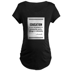 AristotleEducation Maternity T-Shirt