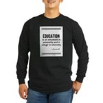 AristotleEducation Long Sleeve T-Shirt