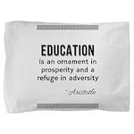 AristotleEducation Pillow Sham