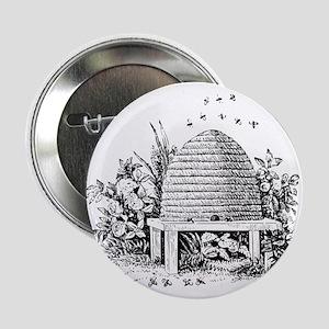 """Masonic Beehive No. 2 2.25"""" Button"""