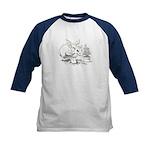 Dragon Gardener Kids Baseball Jersey