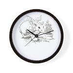 Dragon Gardener Wall Clock