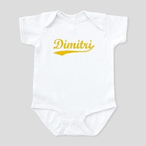 Vintage Dimitri (Orange) Infant Bodysuit