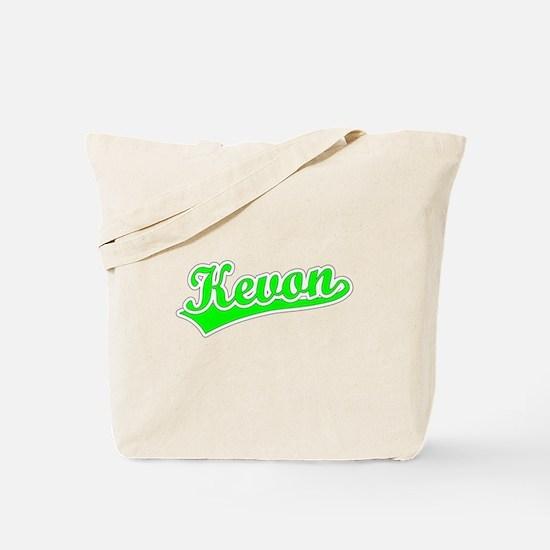Retro Kevon (Green) Tote Bag
