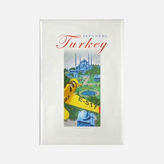Istanbul Flyer Rectangle Magnet