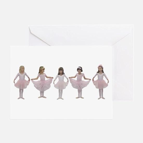 Baby Ballerinas Greeting Card