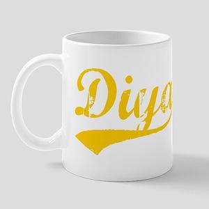 Vintage Diya (Orange) Mug