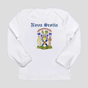 Nova Scotia Canada flag design Long Sleeve T-Shirt