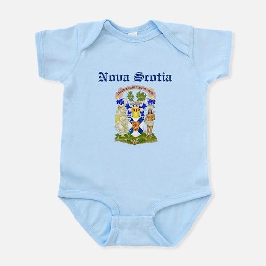 Nova Scotia Canada flag design Body Suit