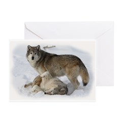 Domination Wolves Greeting Cards (Pk of 20)