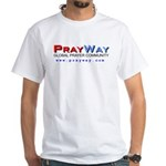 PrayWay White T-Shirt
