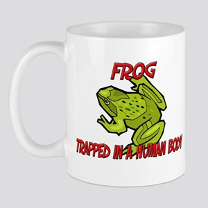 Frog trapped in a human body Mug