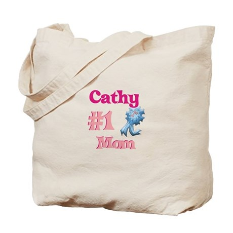 Cathy - #1 Mom Tote Bag